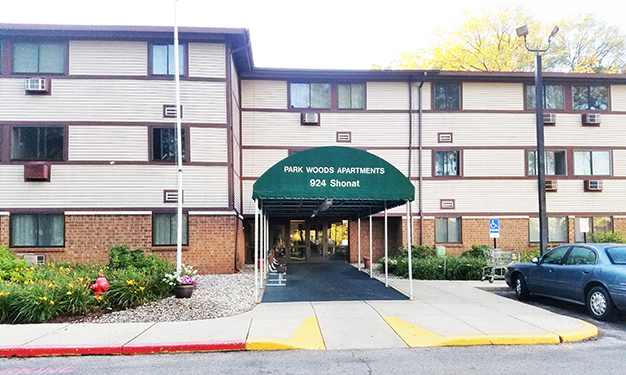 Image of Park Woods Apartments in Muskegon, Michigan
