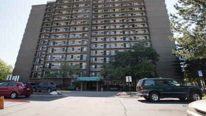 Image of Plymouth Square Village Apartments in Detroit, Michigan