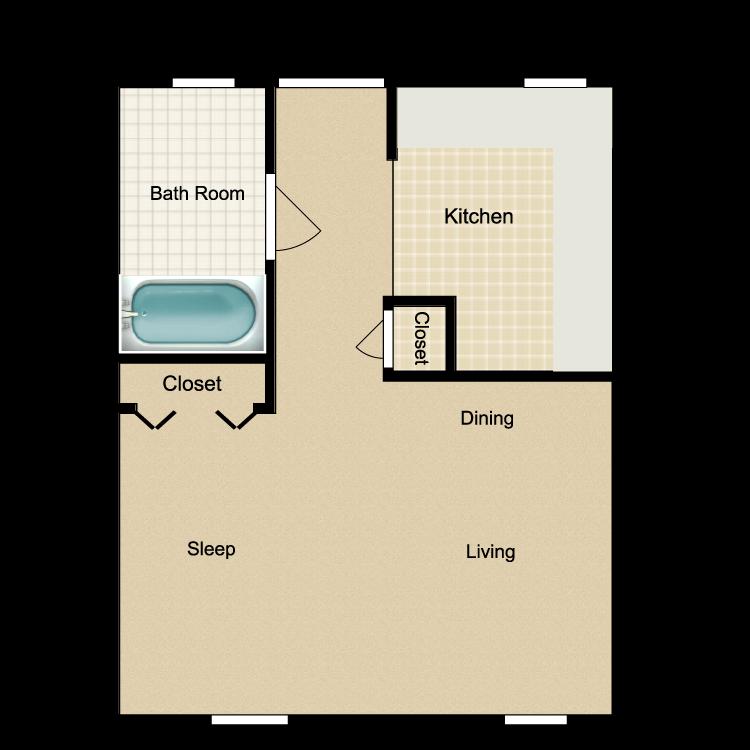 Image of Palacio Residencial & El Paraiso Apartments