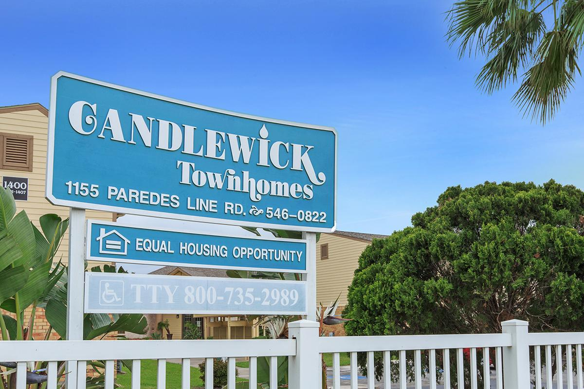 Image of Candlewick Townhomes in Brownsville, Texas