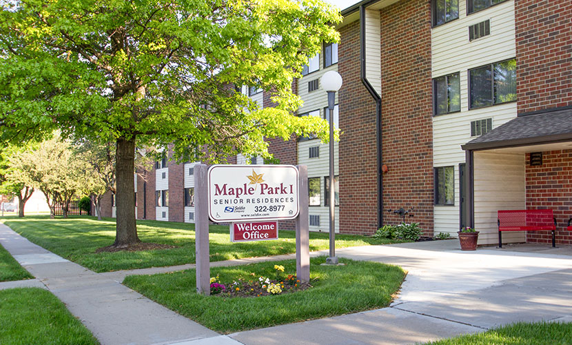 Image of Maple Park in Council Bluffs, Iowa