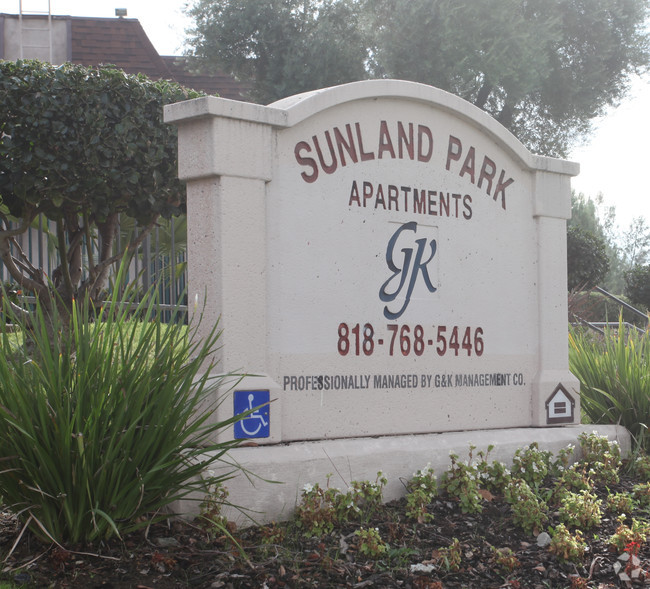 Image of Sunland Park Apartments in San Fernando, California