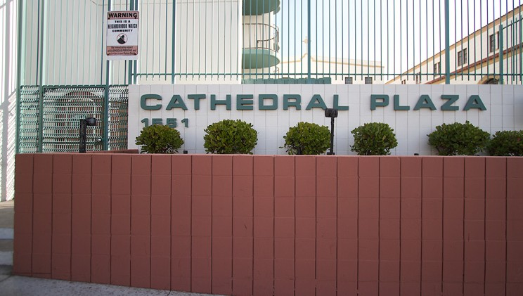 Image of Cathedral Plaza in San Diego, California