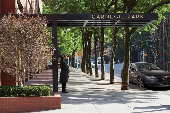 Image of Carnegie Park in New York City, New York