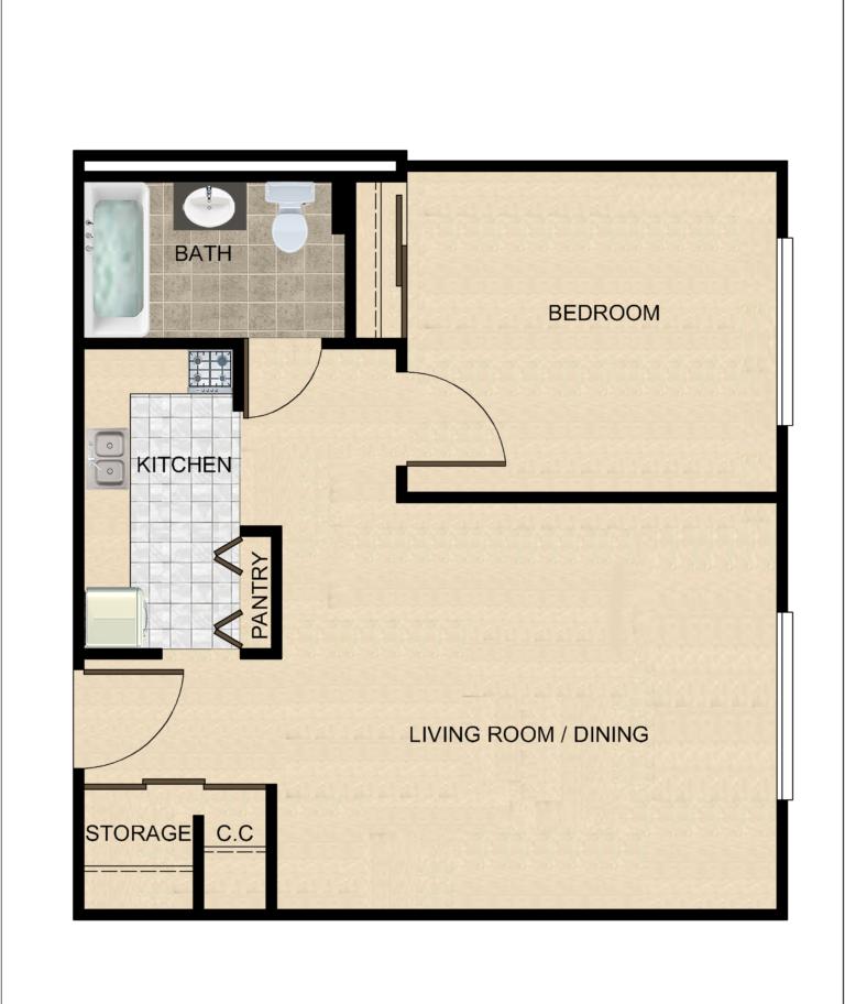 Senior Citizen Apartments: Lakeview Arms Senior Citizens Apartments