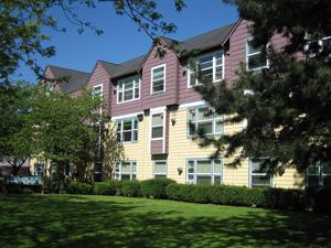 Image of Caritas Plaza in Portland, Oregon