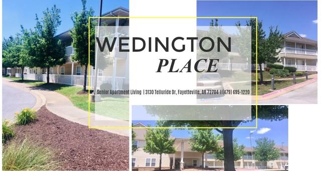Image of Wedington Place Senior Apartments in Fayetteville, Arkansas