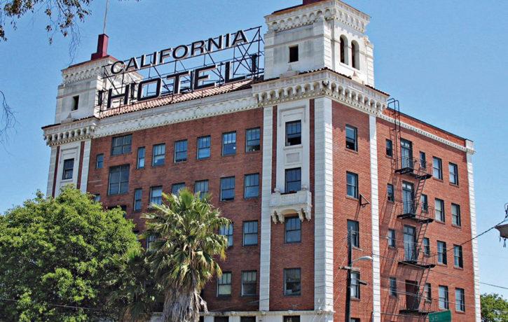Image of California Hotel in Oakland, California