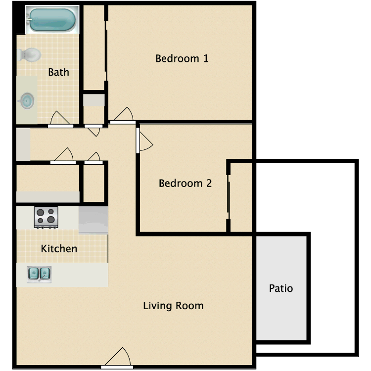 Cheap Apartments In Fresno Ca: The Village At 9th Apartments