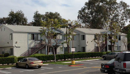 Image of Parkside Apartments in San Diego, California