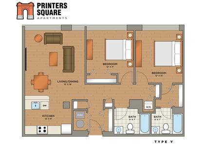 Image of Printers Square Apartments