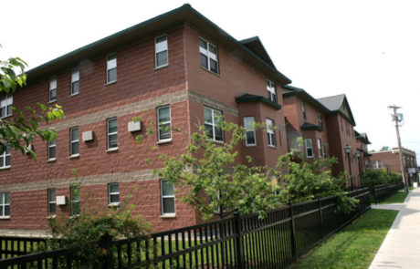Image of Joslyn Court in Syracuse, New York