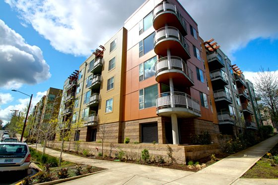 Image of The Headwaters Apartments in Portland, Oregon