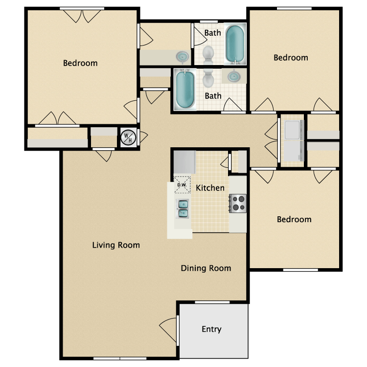 Image of Cobblestone Village Apartments