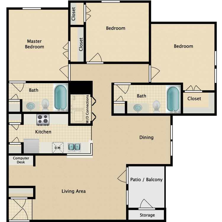 Image of King's Crossing Apartments