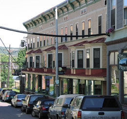 Image of Mary Exner Block in Bellows Falls, Vermont