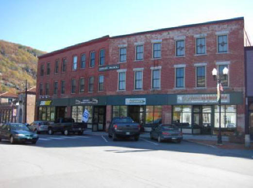 Image of Howard Block in Bellows Falls, Vermont