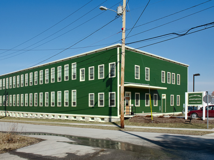 Image of Willard Mill in Saint Albans, Vermont
