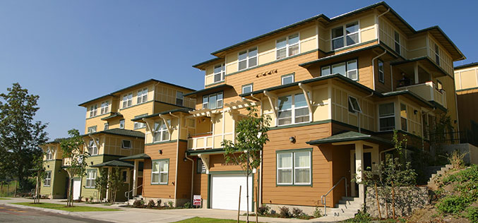 Image of Hillside Garden Townhomes in Tacoma, Washington