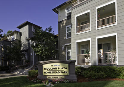 Image of Moulton Plaza in Sunnyvale, California