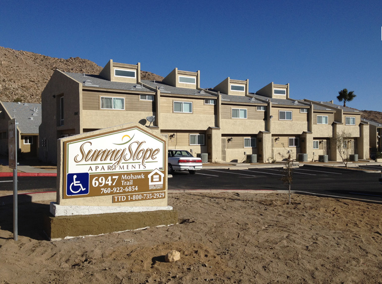 Image of Sunnyslope Apartments in Yucca Valley, California