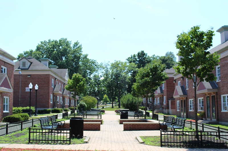 Image of North Common Village in Lowell, Massachusetts
