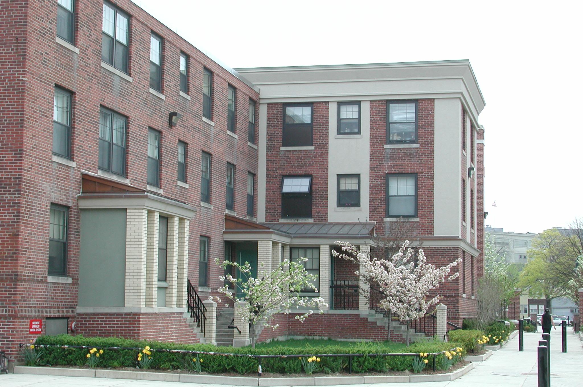 Image of Newtowne Court in Cambridge, Massachusetts