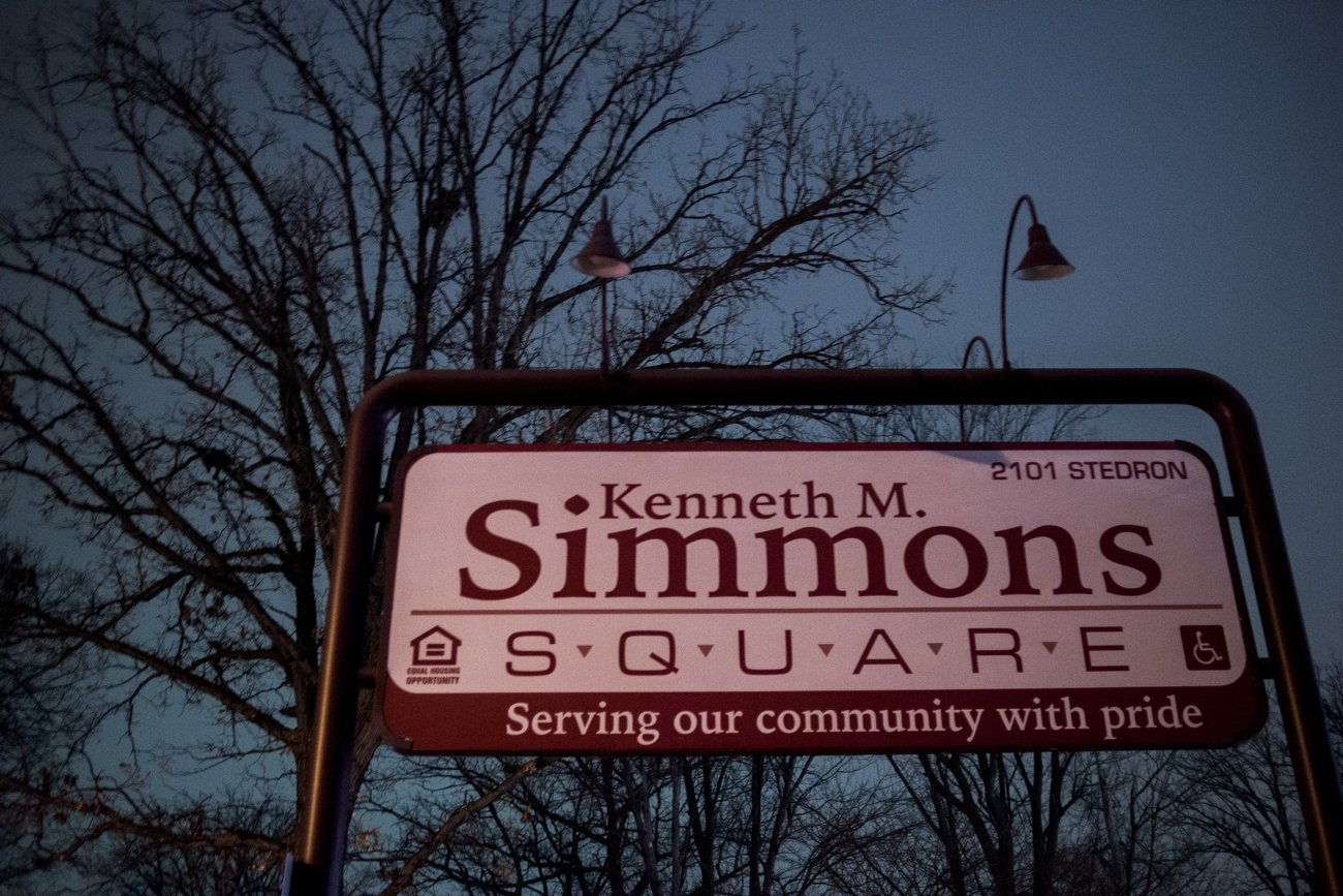 Image of Kenneth Simmons Square in Flint, Michigan