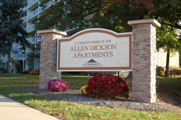 Image of Allen Dickson Senior Apartments in Barberton, Ohio