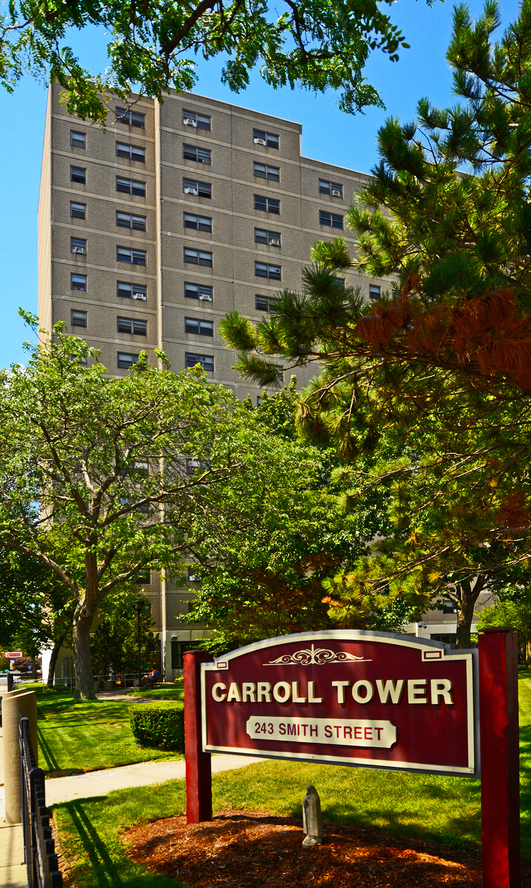 Image of Carroll Towers in Providence, Rhode Island
