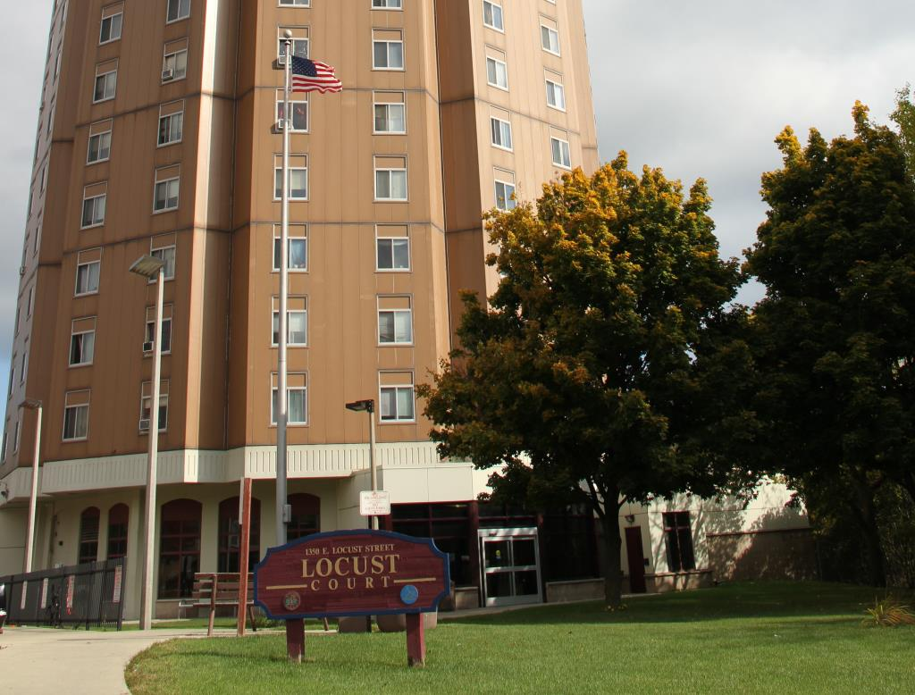Image of Locust Court in Milwaukee, Wisconsin