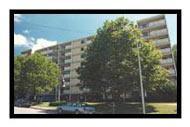 Image of Booker T Washington Plaza in Wheeling, West Virginia