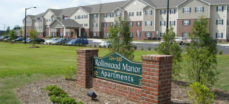 Image of Rollinwood Manor in Rocky Mount, North Carolina