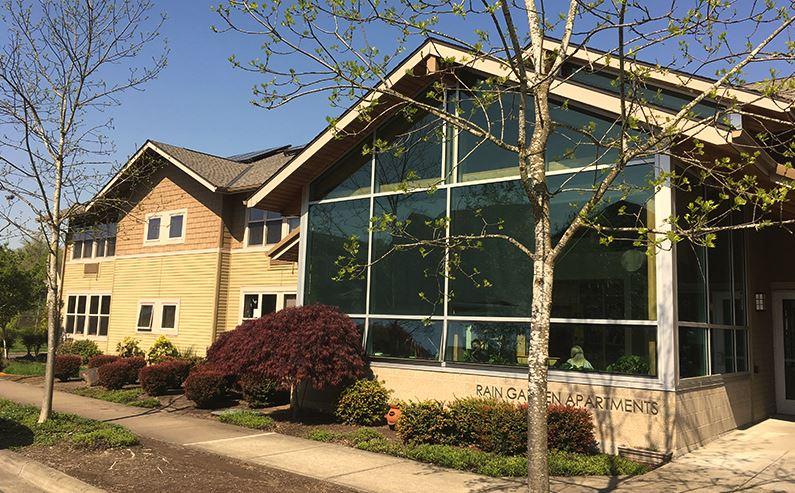 Image of Rain Garden Apartments in Wilsonville, Oregon