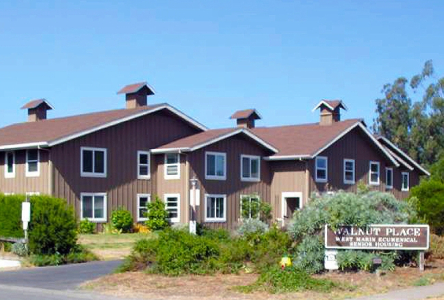 Image of Walnut Place Senior Housing Apartments in Point Reyes Station, California