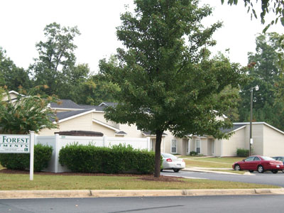 Image of Mosby Forest Apartments in Littleton, North Carolina