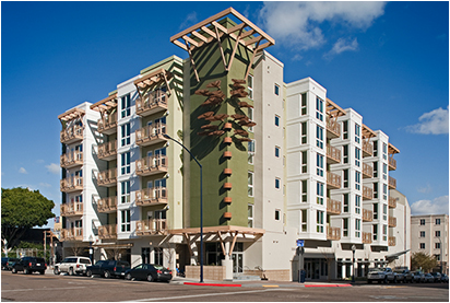 Image of Parkside Terrace in San Diego, California
