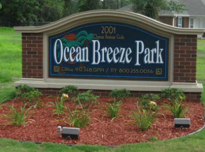 Image of Ocean Breeze Park in Waycross, Georgia