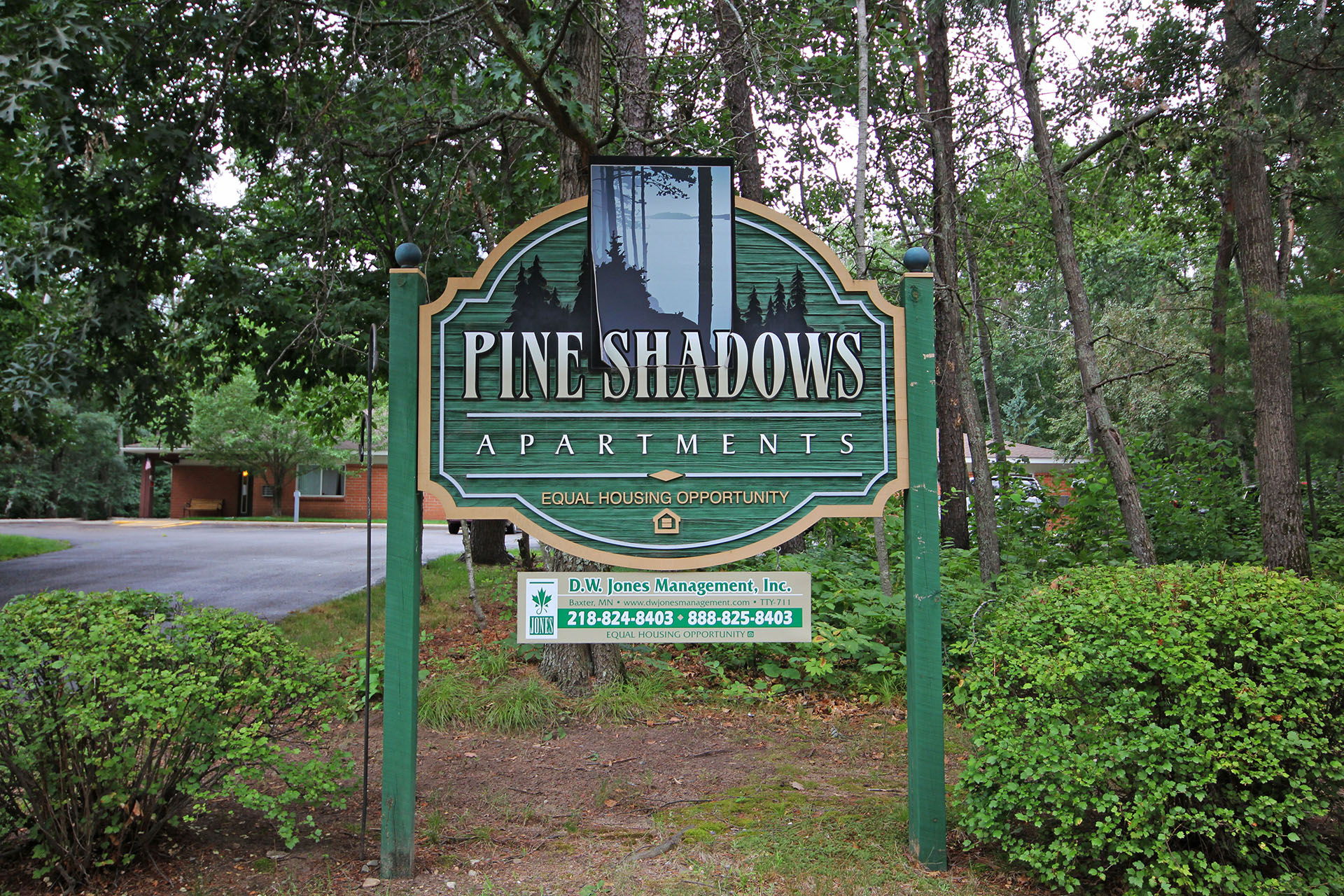 Image of Pine Shadows Apartments in Nisswa, Minnesota