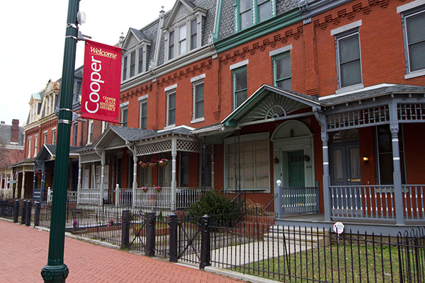 Image of Cooper Plaza Historic Homes in Camden, New Jersey