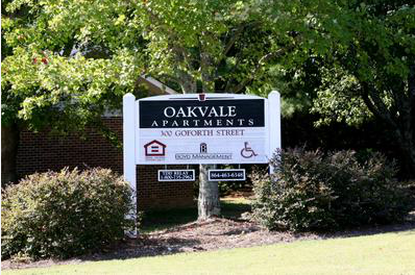 Image of Oakvale Apartments in Cowpens, South Carolina