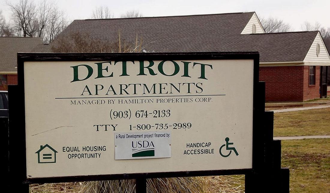 Image of Detroit Apartments in Detroit, Texas