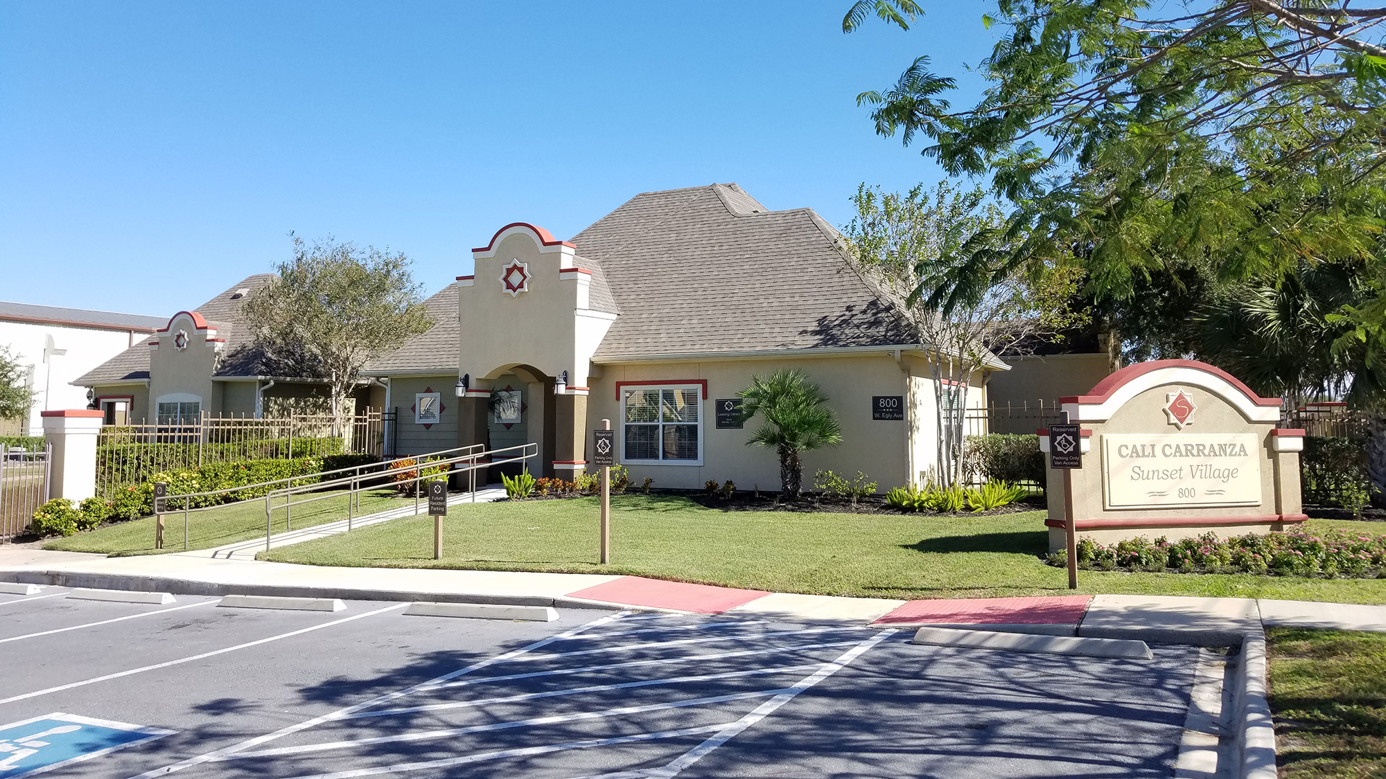 Image of Sunset Village Apartments in Pharr, Texas
