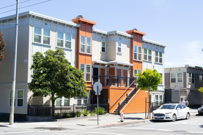 Image of Robert B. Pitts Apartments in San Francisco, California
