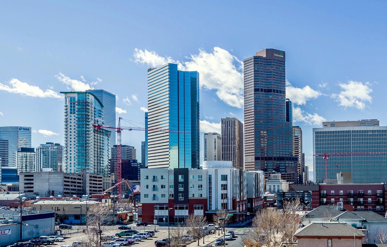 Image of Park Avenue West in Denver, Colorado