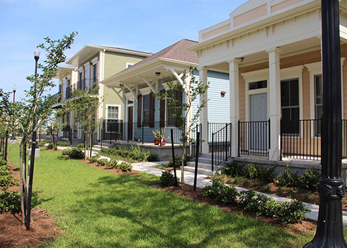 Image of Faubourg Lafitte in New Orleans, Louisiana