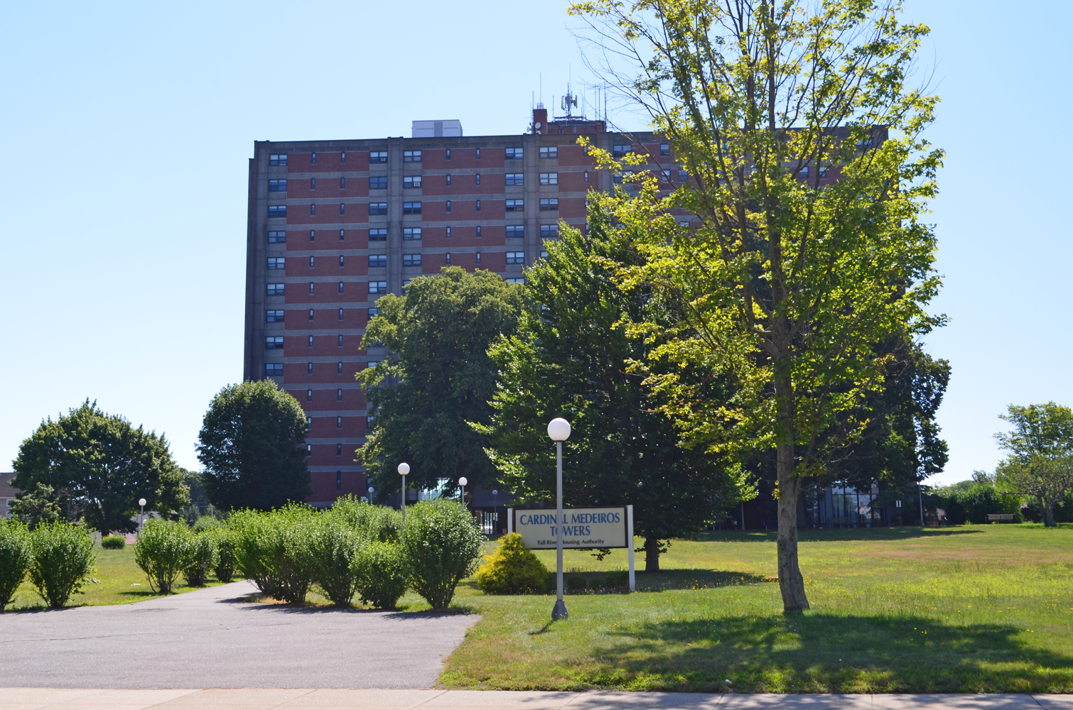 Image of Cardinal Medeiros Towers in Fall River, Massachusetts