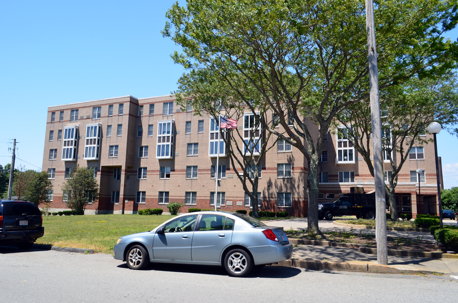 Image of Bates and Towers Apartments in Fall River, Massachusetts