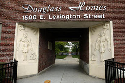 Image of Douglass Homes in Baltimore, Maryland