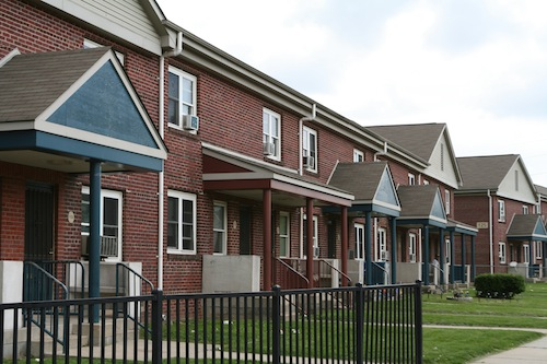 Image of The Ruth L. Bennett Homes in Chester, Pennsylvania